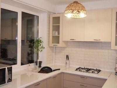 матовая кухня Латте 1