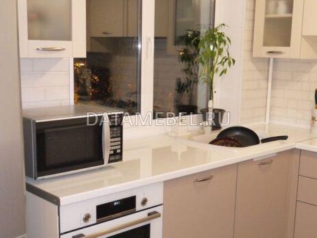 матовая кухня Латте 28