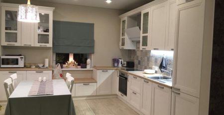 угловая кухня Манчестер Акация 1