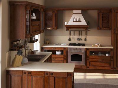кухня Флореале тик 1