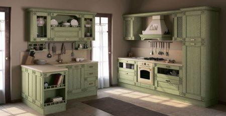 кухня флореале верде 1