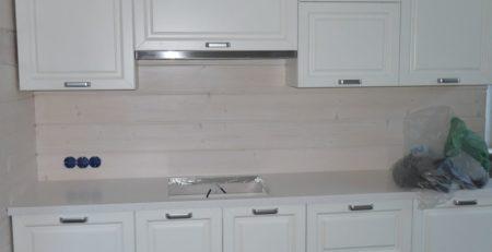 белая кухня с островом 1