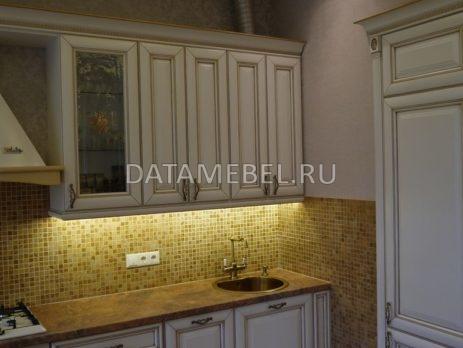 кухня с фасадами Монтебьянко 4