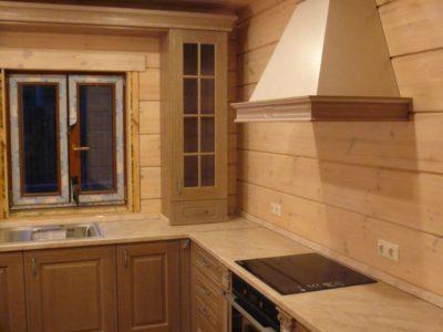 кухня с фасадами Темза 1