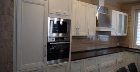кухонный гарнитур Кватро белый 1