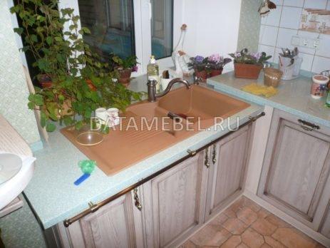 кухня с фасадами массив дуба 2