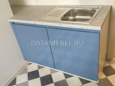 бело синяя кухня 3
