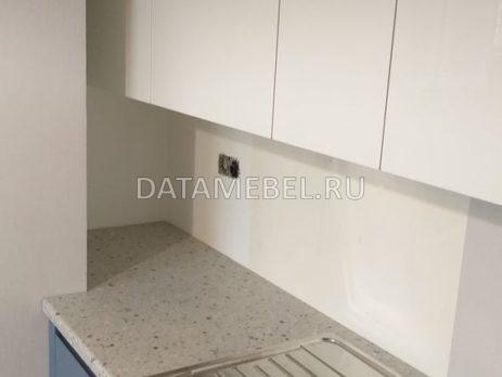 бело синяя кухня 4
