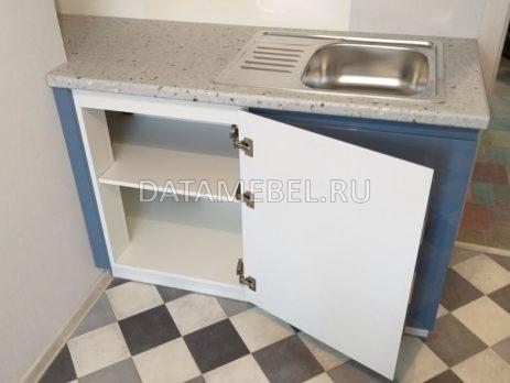бело синяя кухня 5