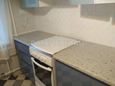 бело синяя кухня 7