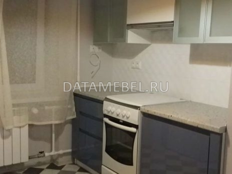 бело синяя кухня 8