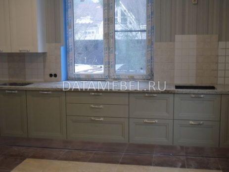 бело зеленая кухня Ман2естер 1