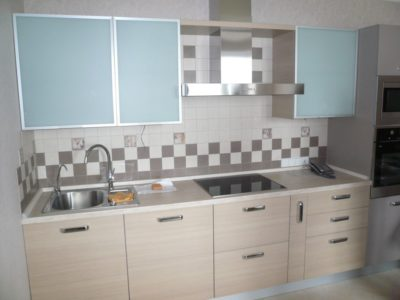 комбинированный кухонный гарнитур 1