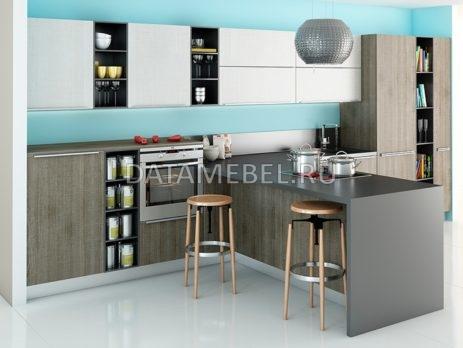 кухни матовый пластик 7
