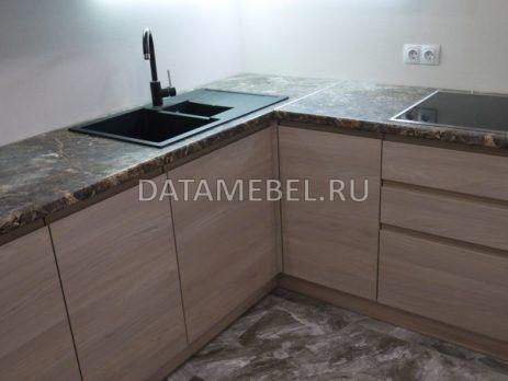 кухня с фасадами Сангалло Серый жемчуг 4