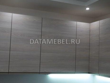 кухня с фасадами Сангалло Серый жемчуг 6