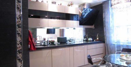 кухонный гарнитур капучино 1