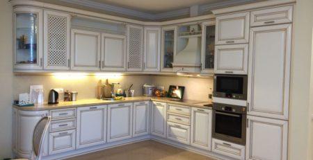 угловая кухня Монтебьянко 1