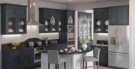 кухня Манчестер серый жемчуг 1
