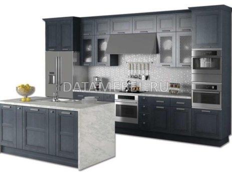 кухня Манчестер серый жемчуг 4