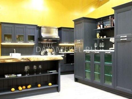кухня Манчестер серый жемчуг 9