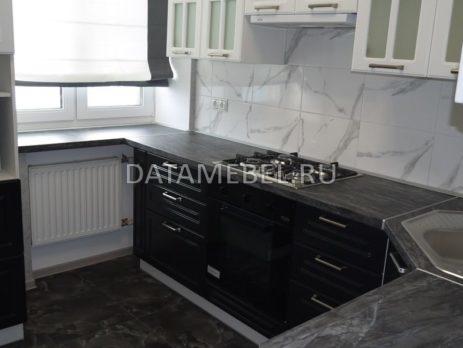 черно белая кухня 1