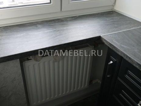 черно белая кухня 5