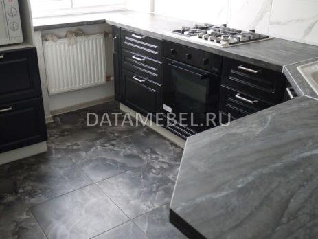 черно белая кухня 6