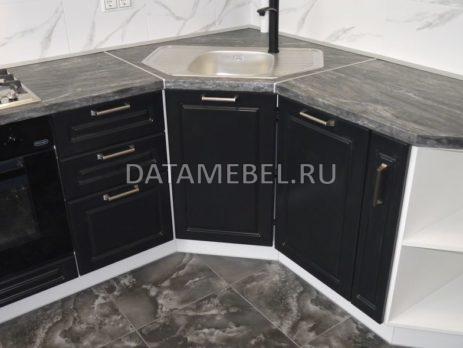 черно белая кухня 7