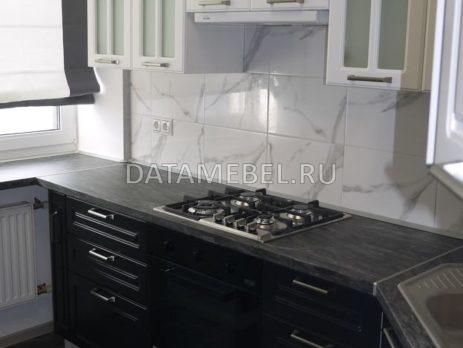 черно белая кухня 8