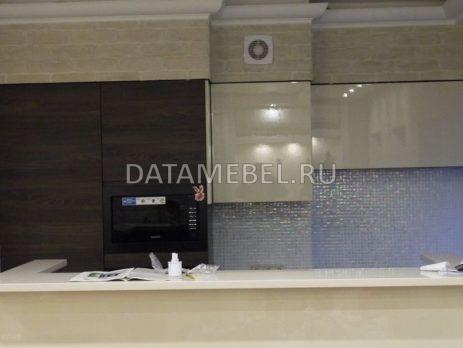 кухня с фасадами Сангалло темный орех 5