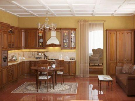 кухня Магнолия 4
