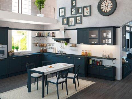 кухня Порто антрацит 3