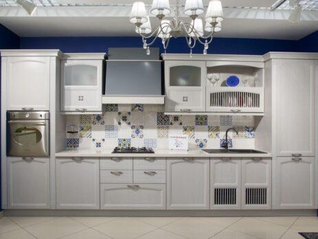 Кухня Амальфи серая 1