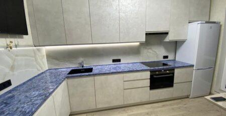 угловая кухня Сангалло лунный камень 1