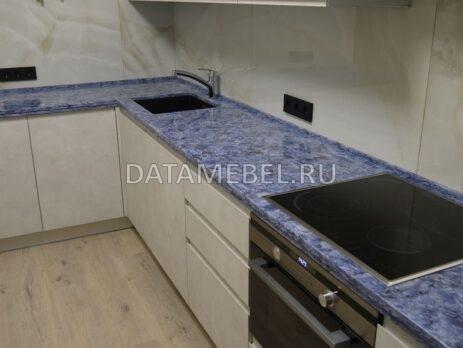 угловая кухня Сангалло лунный камень 16