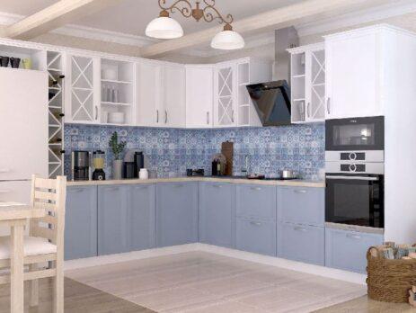 кухня Портофино из массива дуба 25