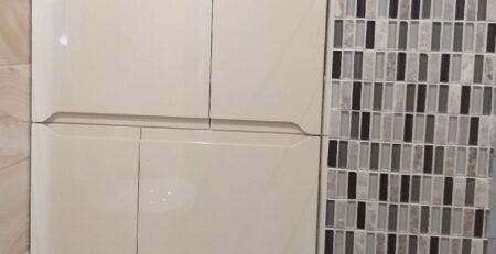 Шкаф для ванной и туалета 11