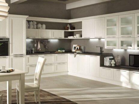 Белые кухни – особенности дизайна 11