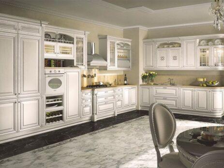 Белые кухни – особенности дизайна 12
