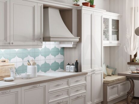 Белые кухни – особенности дизайна 14