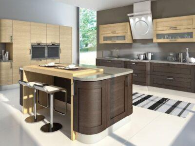деревянные кухни на заказ в СПб 11