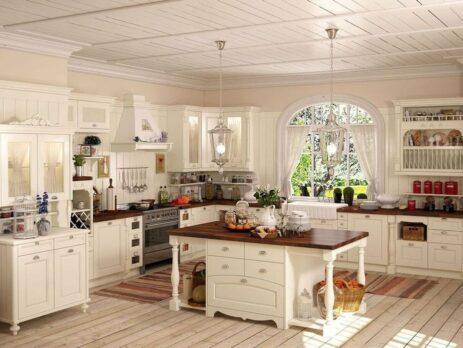 дизайн кухни в стиле прованс 11