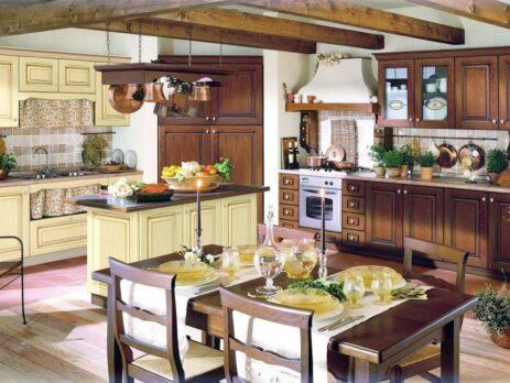 дизайн кухни в стиле прованс 12