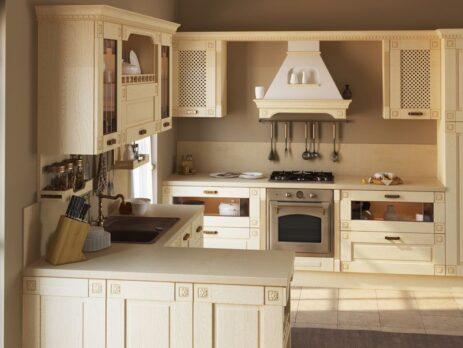 дизайн кухни в стиле прованс 13
