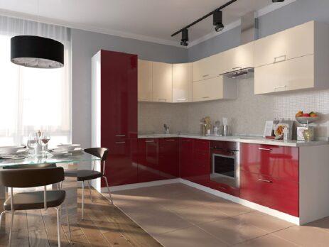 Дизайн угловых кухонь на заказ 22