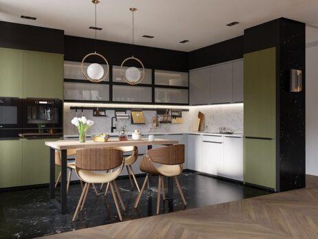 Дизайн угловых кухонь на заказ 25