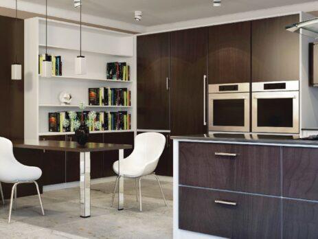 кухни в стиле лофт 44