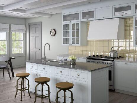 кухни в стиле лофт 33