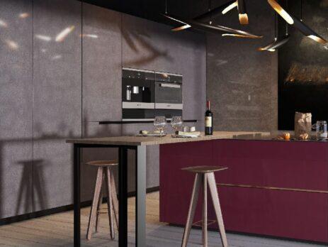 кухни в стиле лофт 36
